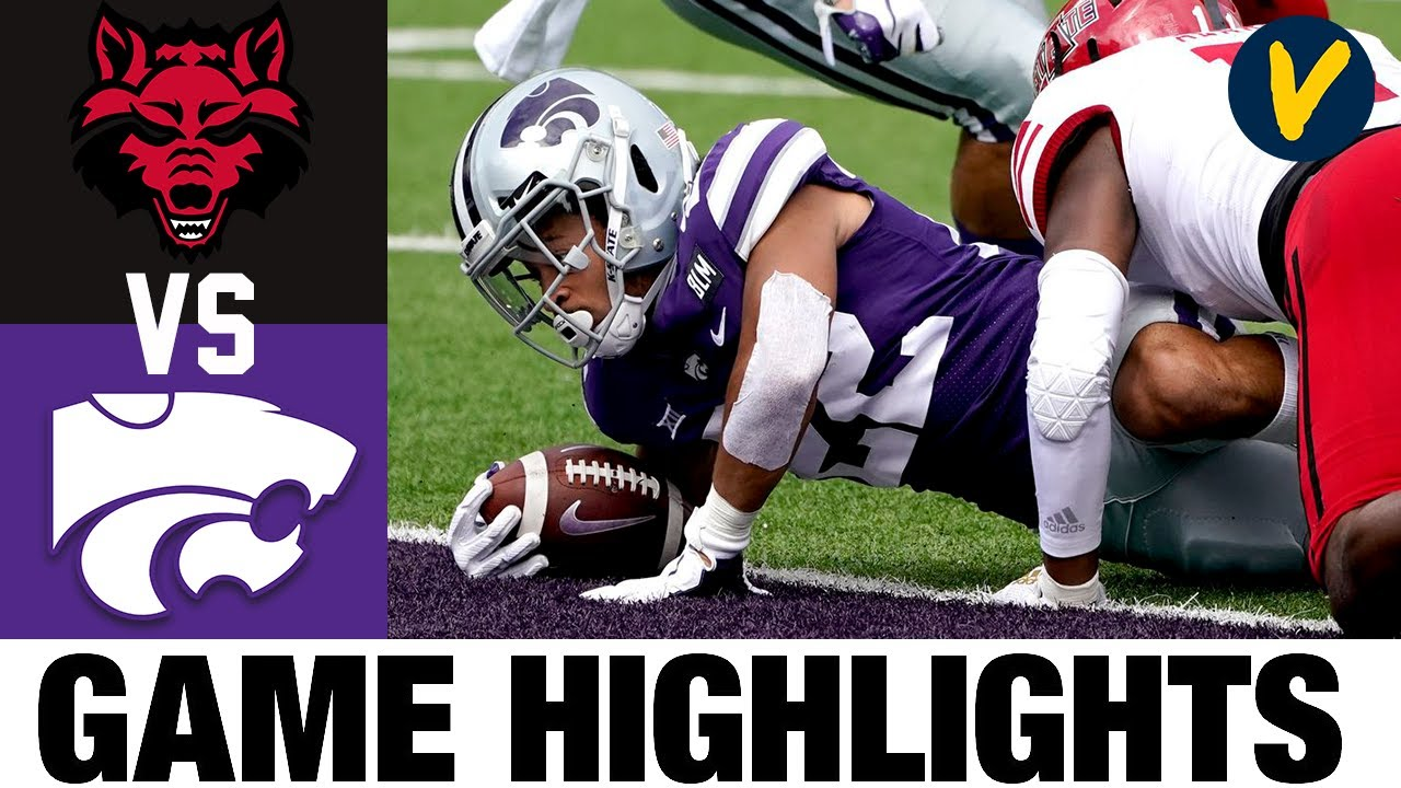 Arkansas State vs Kansas State Highlights | Wk 2 College Football Highlights | 2020 College Football
