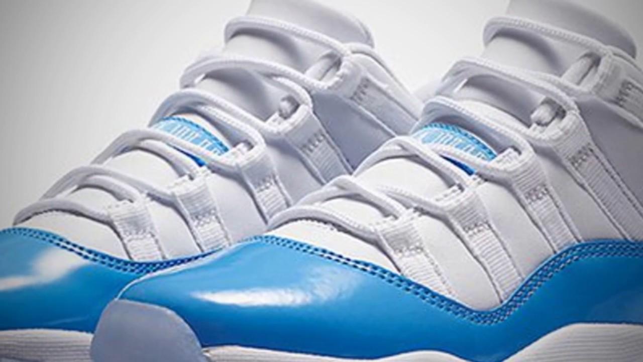e81c07ebbbfa AIR JORDAN 11 LOW (UNIVERSITY BLUE). Sneaker Freaker 2016
