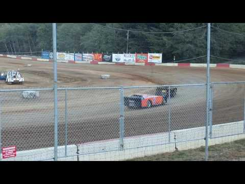 Late model heat 1 coos bay speedway 8-6-16