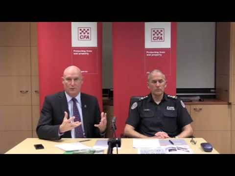 Q&A with CFA Chief Officer and Emergency Management Commissioner