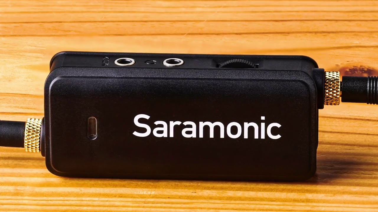 Saramonic LavMic 2-Channel Audio Mixer for iPhones/ DSLR Cameras