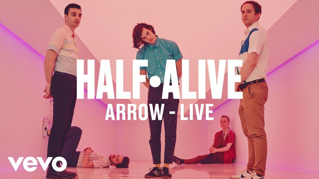 half·alive — «arrow» (Live) | Vevo DSCVR