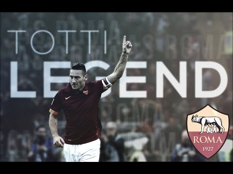 Francesco Totti - Goodbye | Roma Legend 1992-2017 | HD