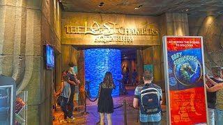 The Lost Chambers Aquarium - Atlantis, Dubai 2016 4K(The Lost Chambers Aquarium - Atlantis, Dubai 2016 4K Free entry with big bus ticket. Very interesting place to visit. http://travelwithmediary.blogspot.co.uk/ Copy ..., 2016-03-24T20:07:41.000Z)