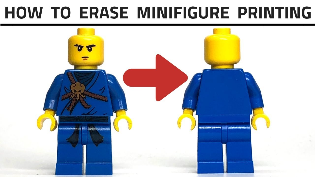 NOT Printed LEGO Clear Minifigure Head Piece