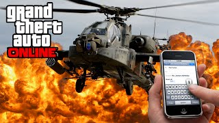 GTA 5 Online News - Heists Apartment Text, Appache Helicopter, Servers Being Updated (Update 1.17)