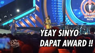The Onsu Family - YEAAYY !! SINYO DAPAT AWARD !!!