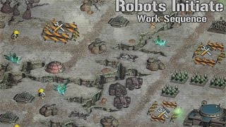 Robots Initiate Work Sequence • Robot Games • Mopixie.com