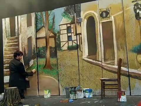 THE JOY OF SETS: Theatrical Scenic Painting Unleashed
