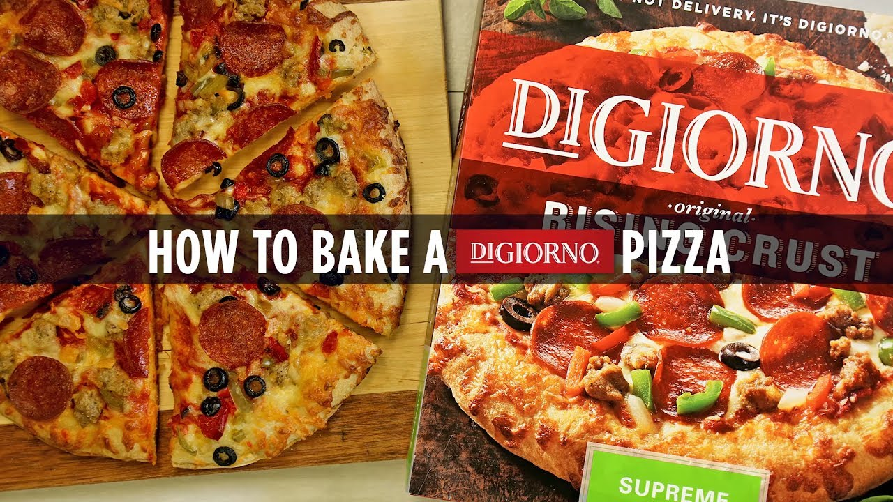 Digiorno Pizza Howto Bake A Digiorno Pizza  Youtube