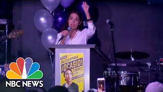 Alexandria Ocasio-Cortez: 'We Have To Keep Organizing, We Can Not Stop' | NBC News