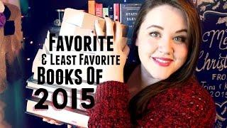Favorite & Least Favorite Books of 2015