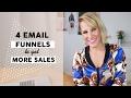 #LOVEMONDAYS: 4 Email Funnels to Get More Sales - Luna Vega