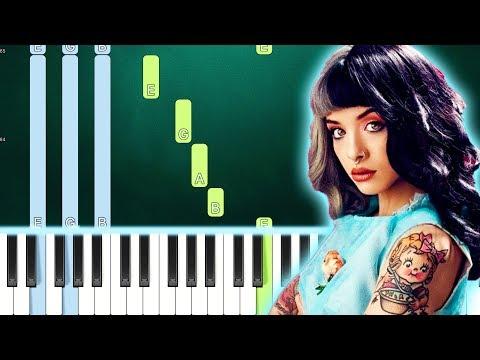 Melanie Martinez - Show & Tell (Piano Tutorial Easy) By MUSICHELP