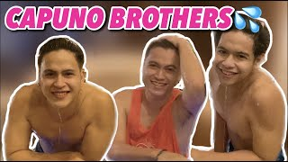 BEACH RESORT ESCAPADE OF CAPUNO BROTHERS | GLESTER, JEROME AND JAPET LEO CAPUNO