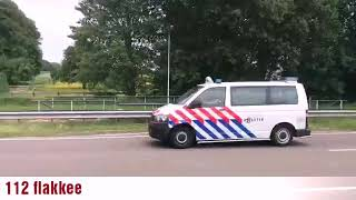 2× politie met spoed naar ongeval met fietser in Melissant