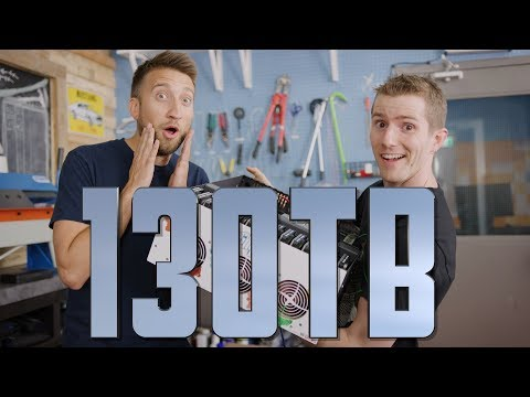 New 130TB Storage Server ft. Linus