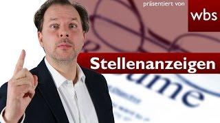 Vorsicht vor gefälschten Stellenanzeigen im Internet | Rechtsanwalt Christian Solmecke