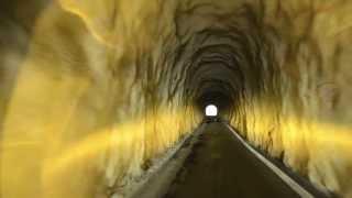 光谷トンネルを通過する(石川県小松市→白山市鳥越)