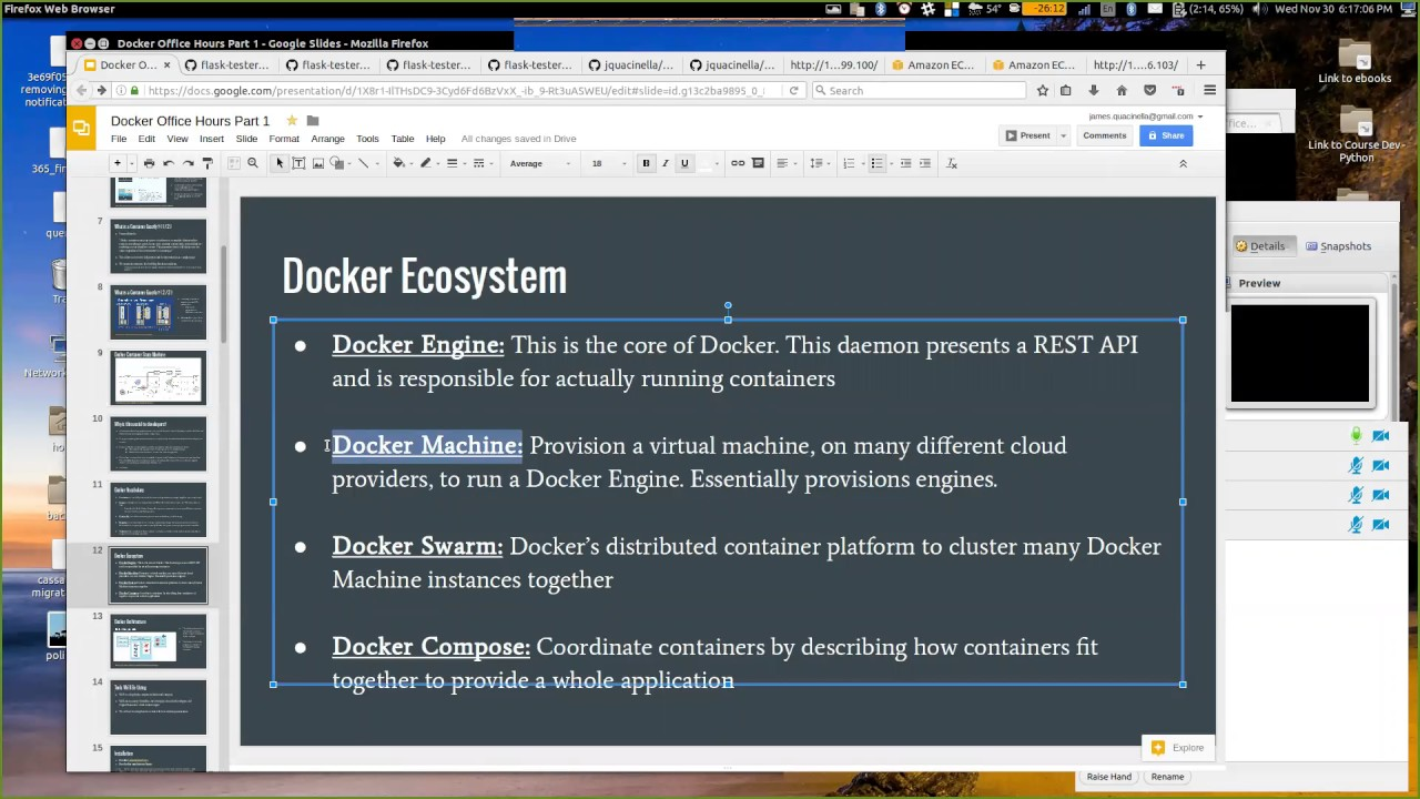 Using Docker and Docker Compose for Local Development and