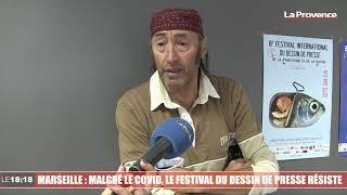 Marseille : malgré le covid, le festival du dessin de presse résiste