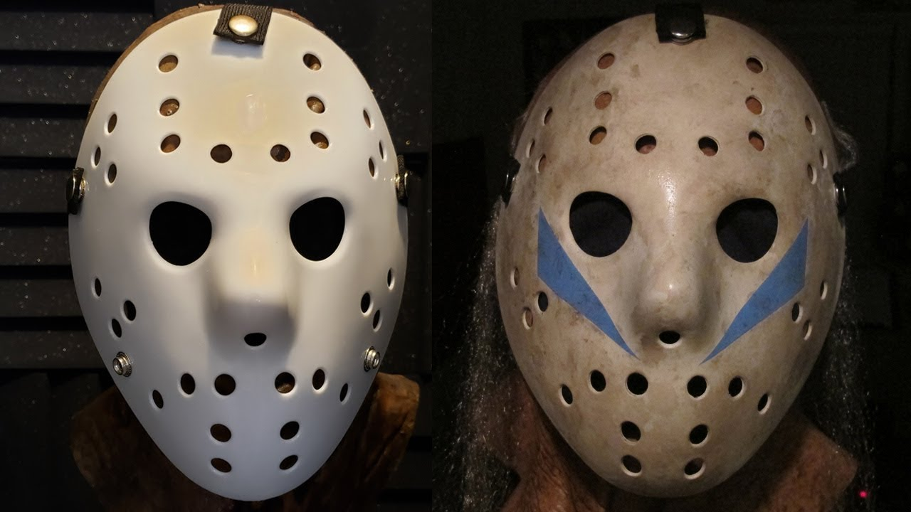 To Print For Jason Mask Pumpkin Stencil: How To Make A Friday The 13th Part 5 Jason Mask