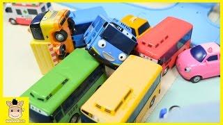 Tayo the Little Bus Friends Parking Garage | MariAndKids Toys