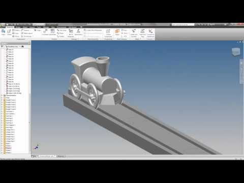 PLTW Model Train Animation Tutorial