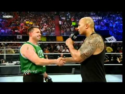 The Rock Bottom To Michael Cole