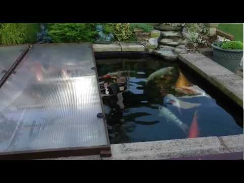 Cost of heating my pond with duratec 7 heat pump for Koi pond installation cost