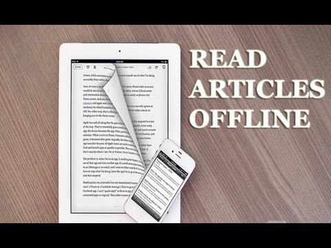 Image result for read articles offline