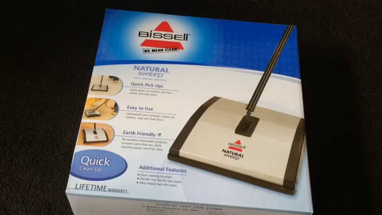 bissell natural sweep dual brush sweeper review - Bissell Sweeper