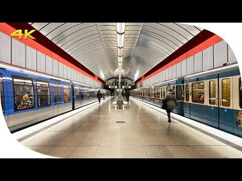 ZEITRAFFER: U-Bahn München | TIMELAPSE: Munich Subway [4K]