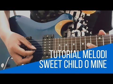 #Tutorial Cara Main Intro Gitar Sweet Child O' Mine