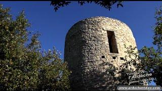 Ardèche - Balazuc - La Tour Jeanne (4K)
