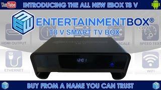 fastest t8 v tv box 2017 release best internet tv box latest t8 v5 smart android box kodi box