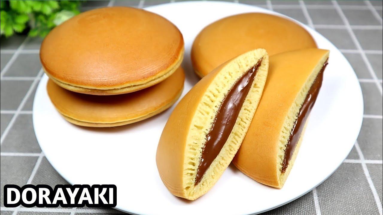 japanese dorayaki dessert recipe RESEP DORAYAKI  JAPANESE PANCAKE DORAYAKI