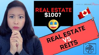 Buying Real Estate REITS: REITs vs Rental Property