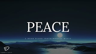 PEACE - 3 Hour Piano Music | Peaceful Music | Meditation Music | Relaxation Music | Deep Sleep Music