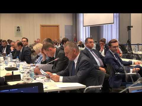 Wypowiedź ministra finansów Mariana Banasia i Tomasza Robaczyńskiego podczas posiedzenia KWRiST
