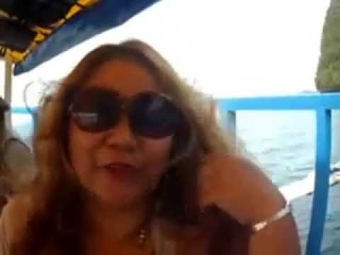 Travel Caraga with fun tour guide Leah Medado@Bucas Grande Island