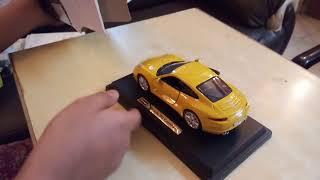 Bburago Porsche 911 Carrera S 1:24 unboxing