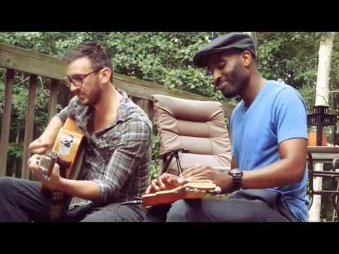 "Omar and Fenn cover ""Sweet thing"" by Van Morrison a Lap Steel/Acoustic Guitar Duo"