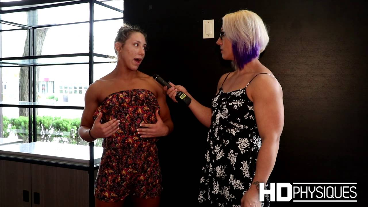 Muscular briana beau gets fucked in her bed 5