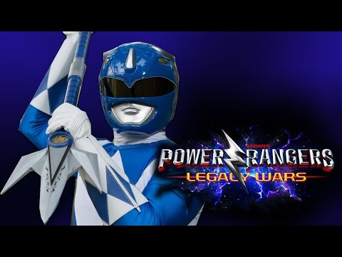 Power Rangers: Legacy Wars Part 3 Blue Ranger Mighty Morphin UNLOCKED!