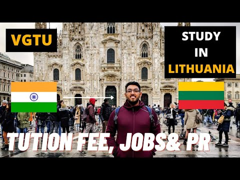 STUDY IN LITHUANIA| TUITION FEES, PART TIME JOBS, RENT& PR| BETTER THAN POLAND?| INDIAN IN LITHUANIA