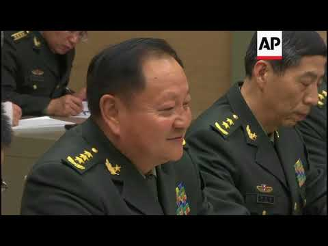Putin meets top Chinese military officials in Moscow