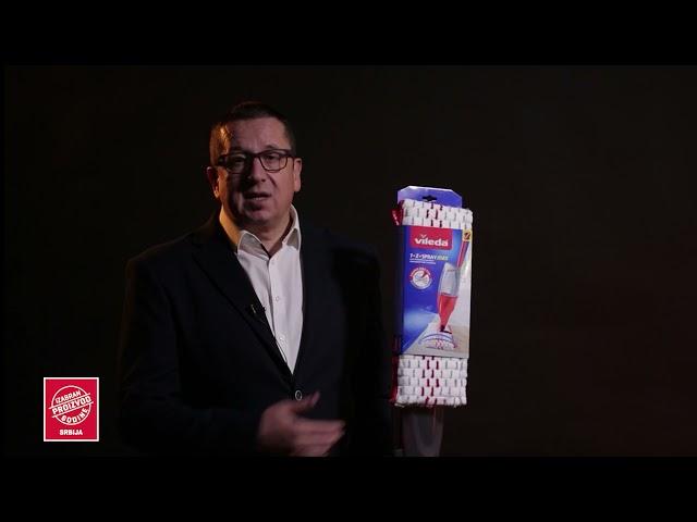 Vileda 1.2 Spray Max Izabran proizvod godine 2021