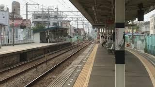 阪神8000系タイプⅡ(8215F)直通特急阪神大阪梅田行き 藤江駅通過