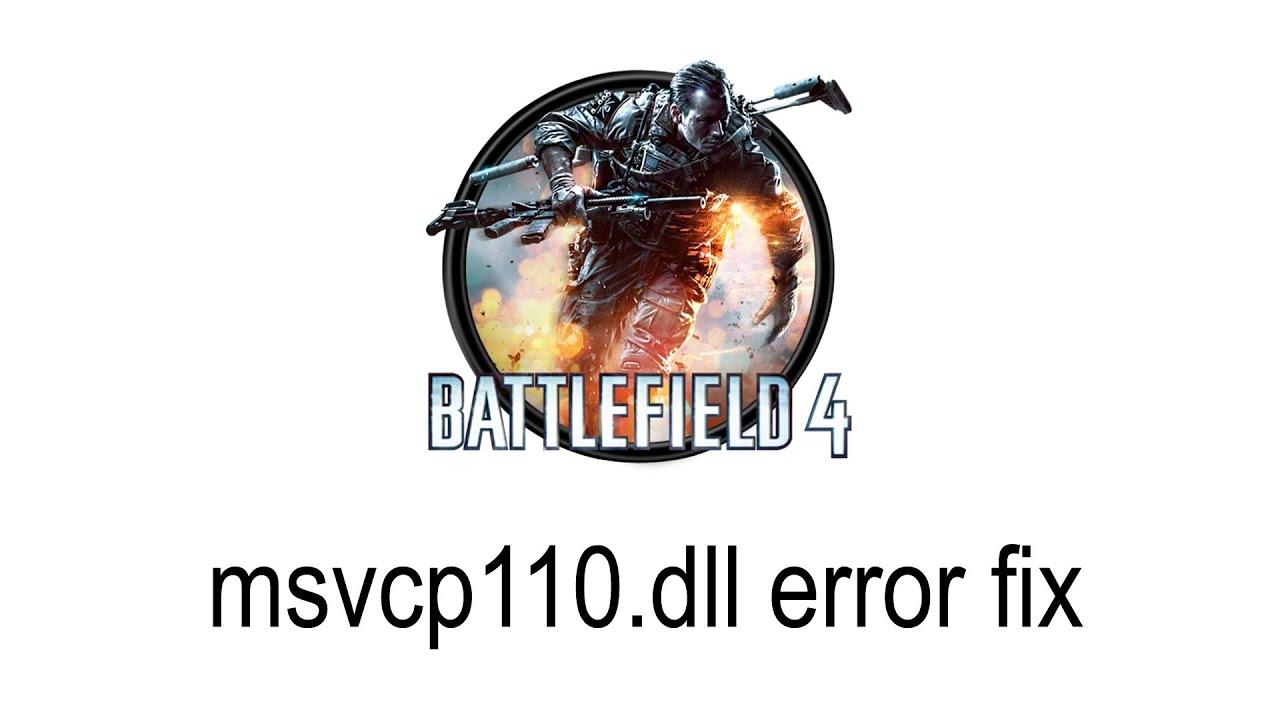 battlefield 4 msvcp110.dll file